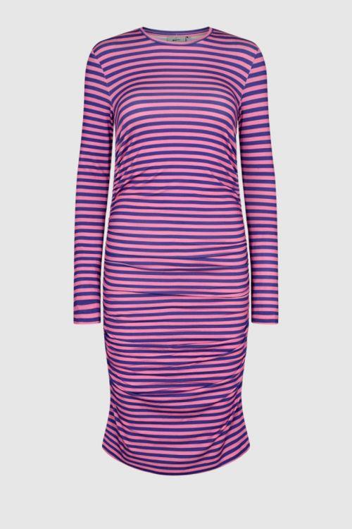 Moves By Minimum - Kjole - Beala Dress - Purple Corallites