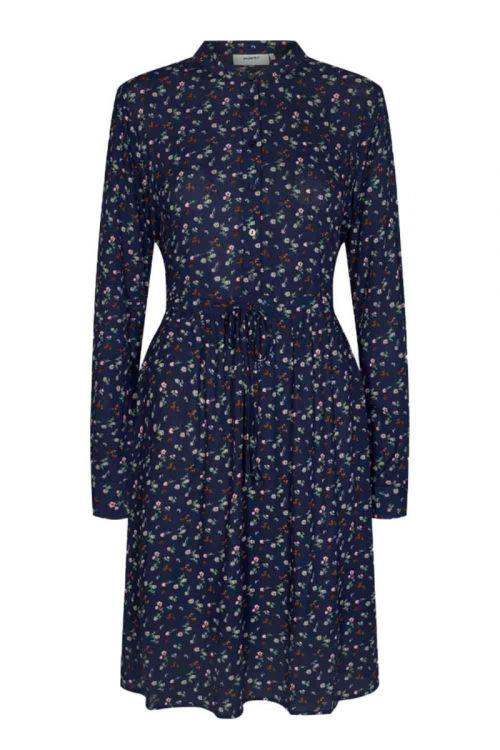 Moves By Minimum - Kjole - Danisa Dress - Navy Blazer