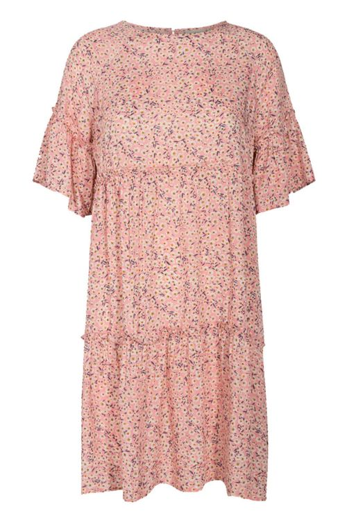 Moves by Minimum Kjole Giral Dress Cashmere Rose Front