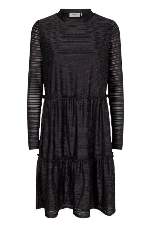 Moves By Minimum Kjole Huma Dress Black Front