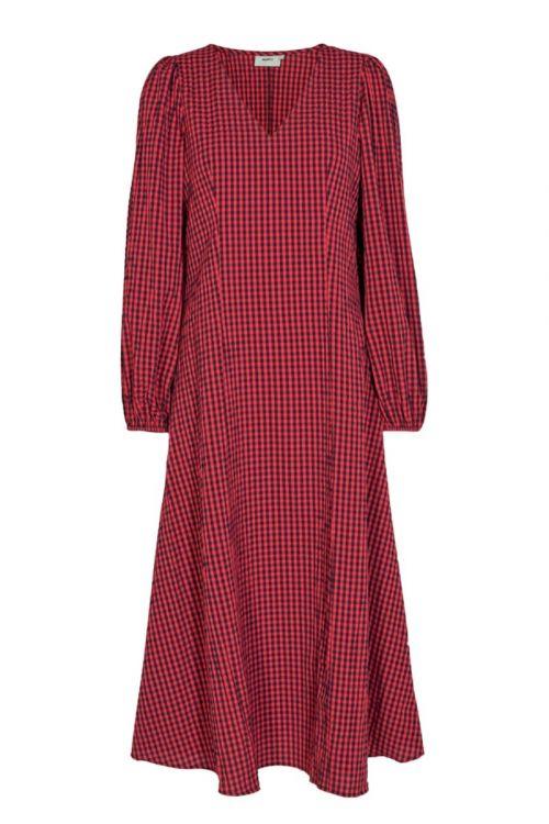 Moves By Minimim - kjole - Lululana Dress - Fiery red