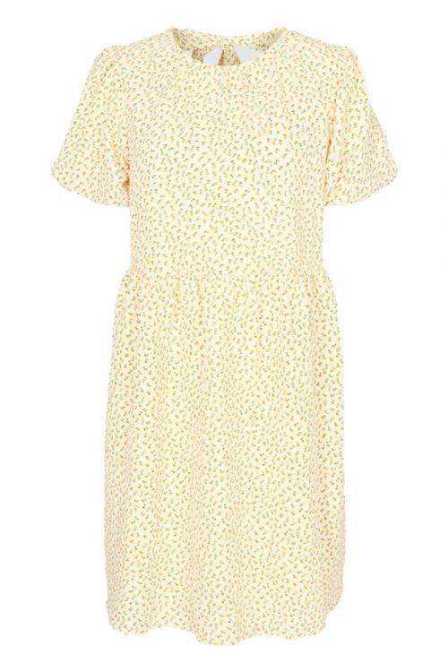 Moves By Minimum - Kjole - Quintelle Dress - Almond - Oil