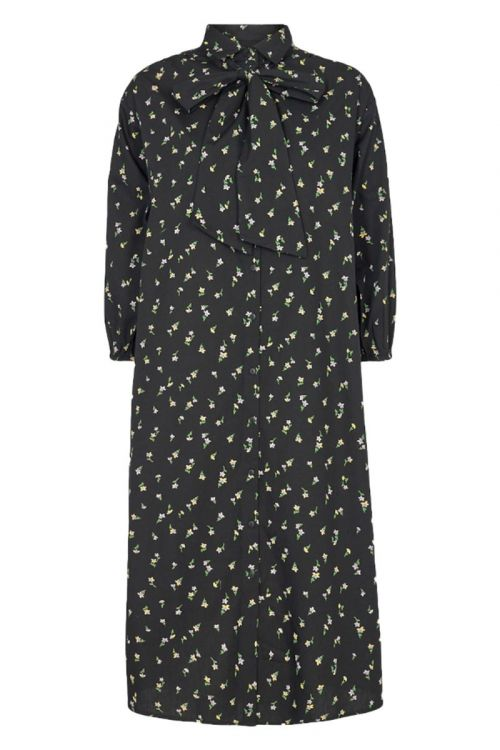 Moves By Minimum - Kjole - Roseway Dress - Black