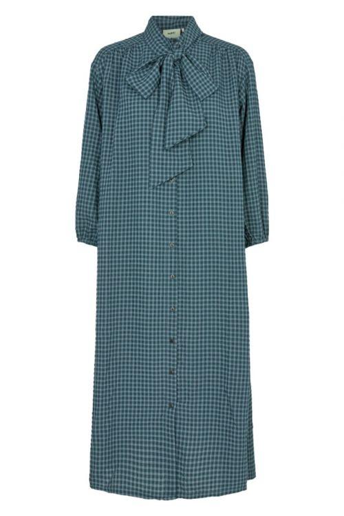 Moves By Minimum Kjole Roseway Dress Bluestone Front