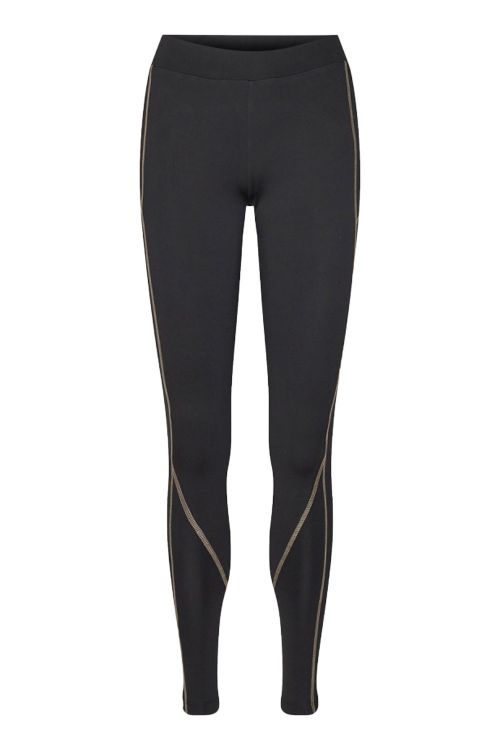 Moves By Minimum Leggings Trusi Leggings Black/Cocoon Front1