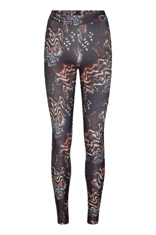 Moves By Minimum Leggings Trusi Leggings Black Front1