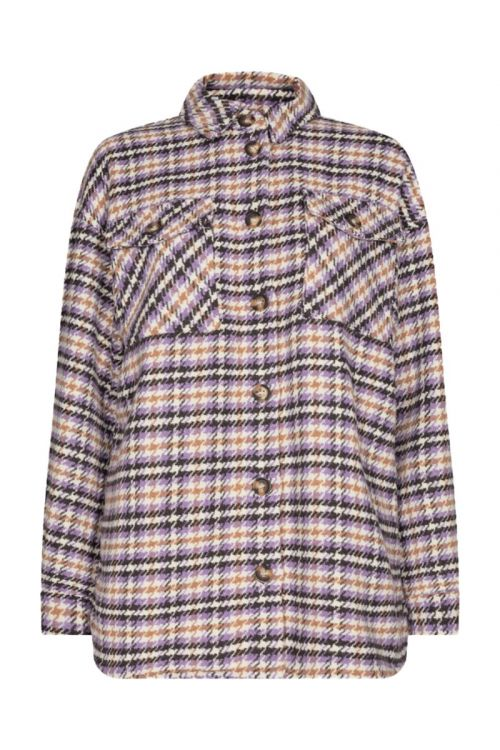 Moves By Minimum Skjorte Savisa Shirt Orchid Bloom Front1