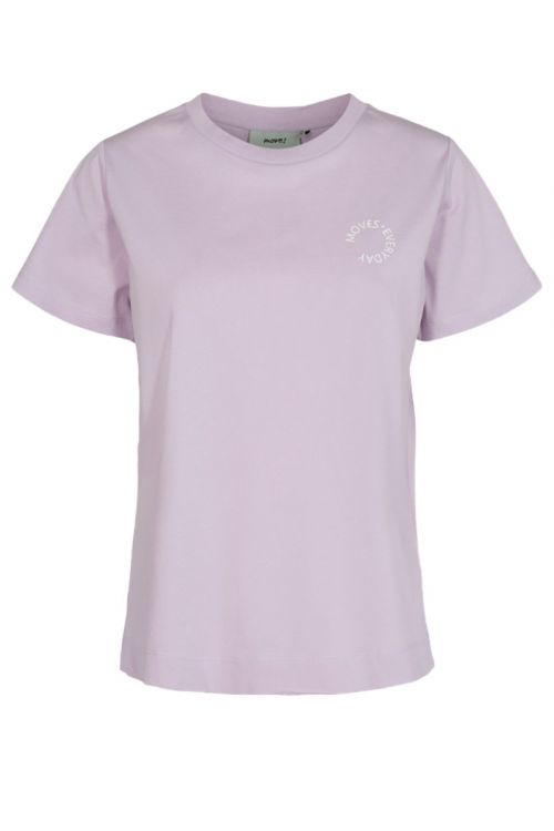Moves by Minimum T-shirt Nielli Orchid Petal Front