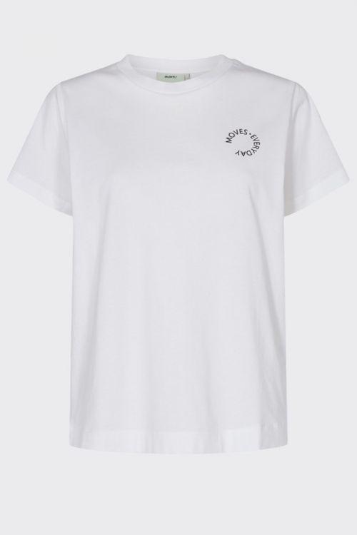 Moves by Minimum - T-shirt - Nielli - White