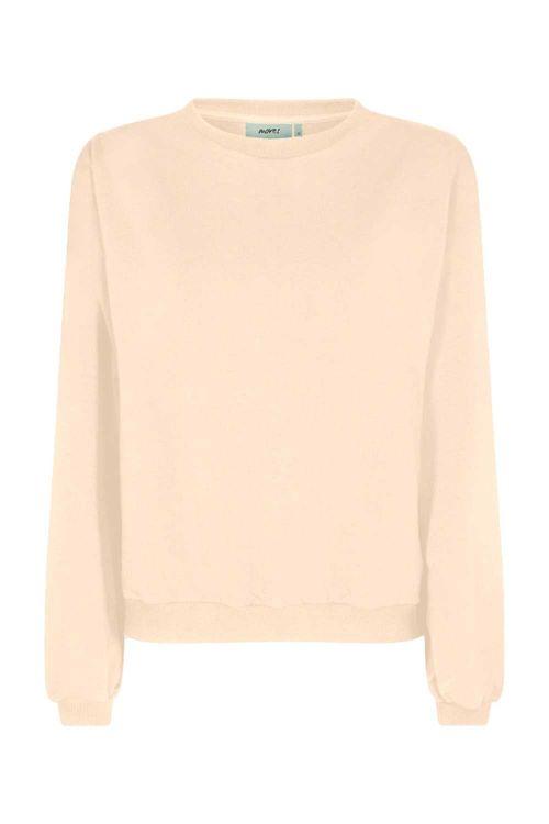 Moves By Minimum Sweat Ismalla Sweatshirt Ivory Cream Front