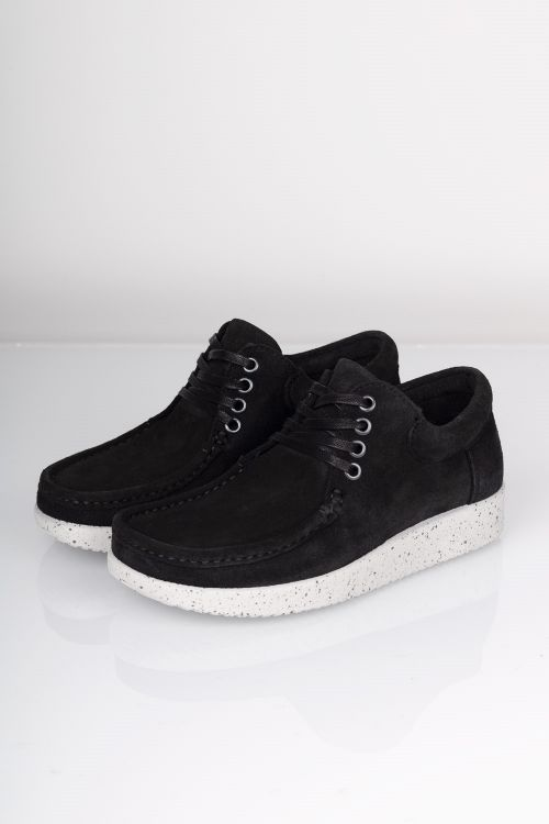 Nature - Sko - Anna Suede - Black