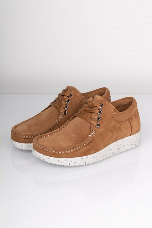 Nature - Sko - Anna Suede - Toffee
