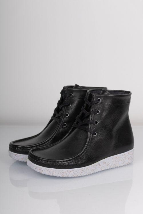 Nature - Sko - Asta Leather - Black