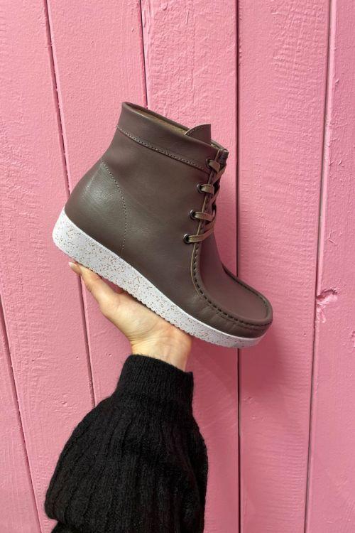 Nature - Sko - Asta Leather (Vegatable Tanned) Asta - Warm grey 152