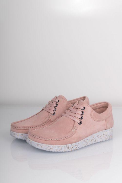 Nature Sko Footwear Anna Baby Pink Front