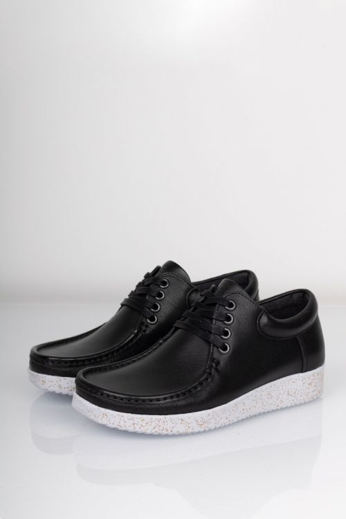 Nature Sko Footwear Anna Black Front