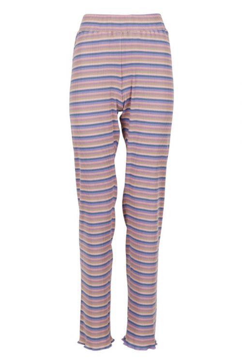 Neo Noir - Bukser - Ricco Rib Pants - Lavender