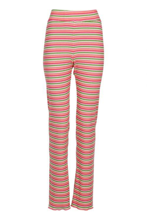 Neo Noir - Bukser - Ricco Rib Pants - Pink