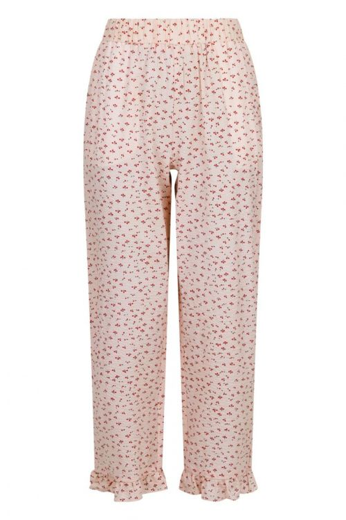 Neo Noir - Bukser - Ina Mini Cherry Pants - Light pink