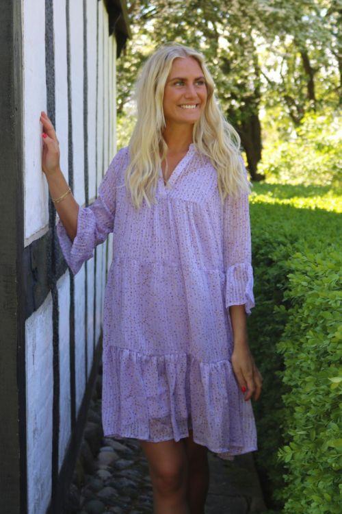 Neo Noir - Kjole - Gunvor Sparkle Dress - Light Lavender