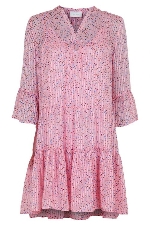 Neo Noir - Kjole - Gunvor Sparkle Dress - Pink