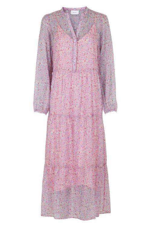 Neo Noir - Kjole - Nobis Vivid Botanic Dress - Rose