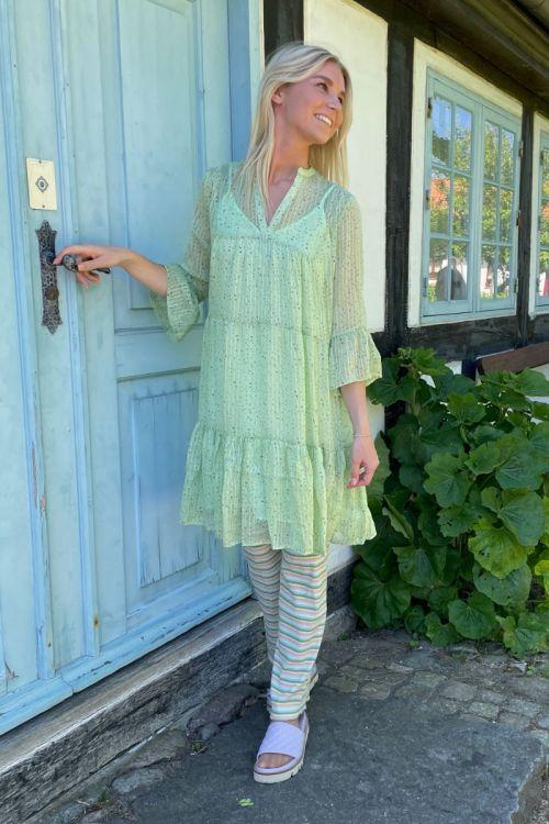 Neo Noir - Kjole - Gunvor Sparkle Dress - Light green