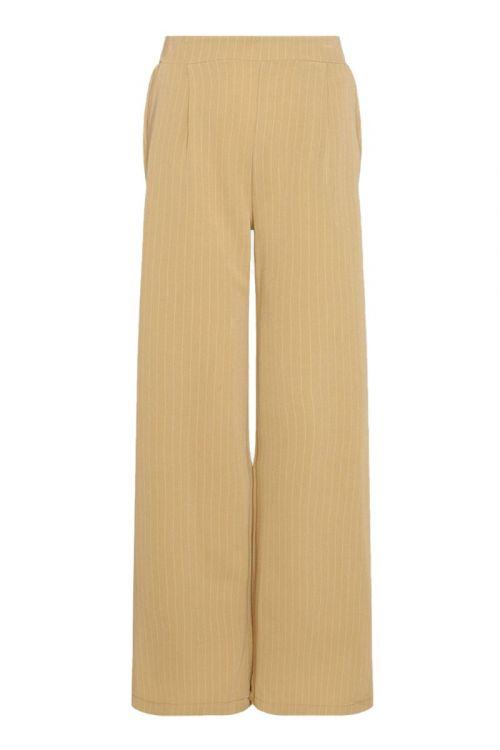 Noella - Bukser - Brooklyn Pants - Beige Pinstripe