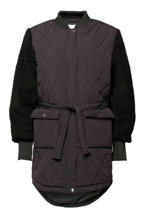Noella - Jakke - Esme Pile Jacket Solid - Black