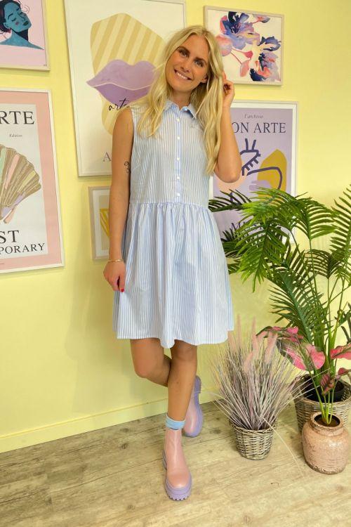 Noella - Kjole - Birk Dress - Blue Stripe