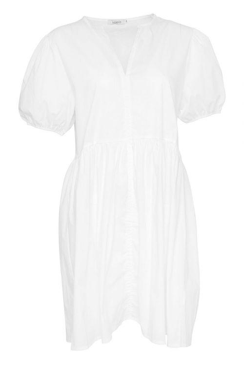 Noella - Kjole - Cora Dress Cotton Poplin - White