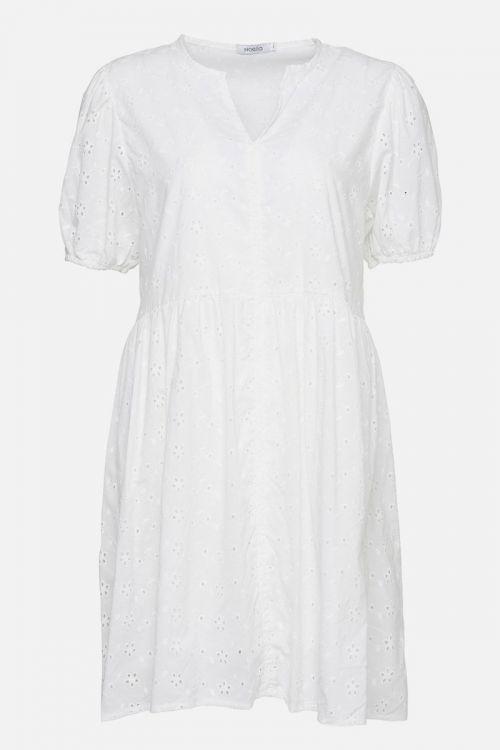 Noella - Kjole - Cora Dress Cotton - White Broderie Anglaise