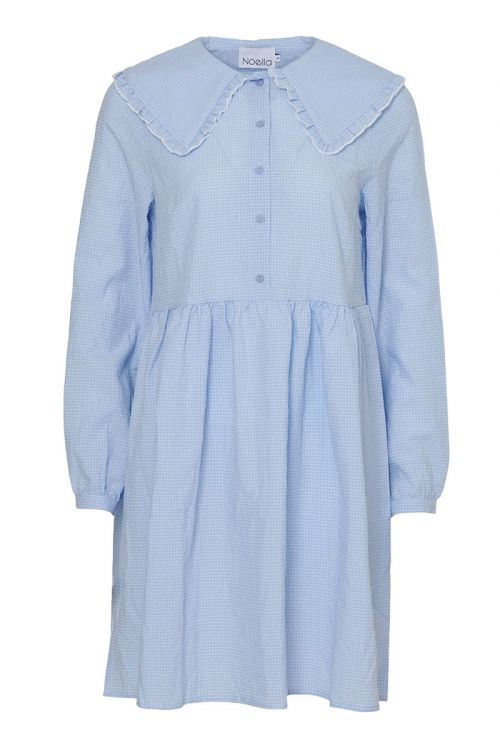 Noella - Kjole - Dania Dress Cotton - Blue/white Checks
