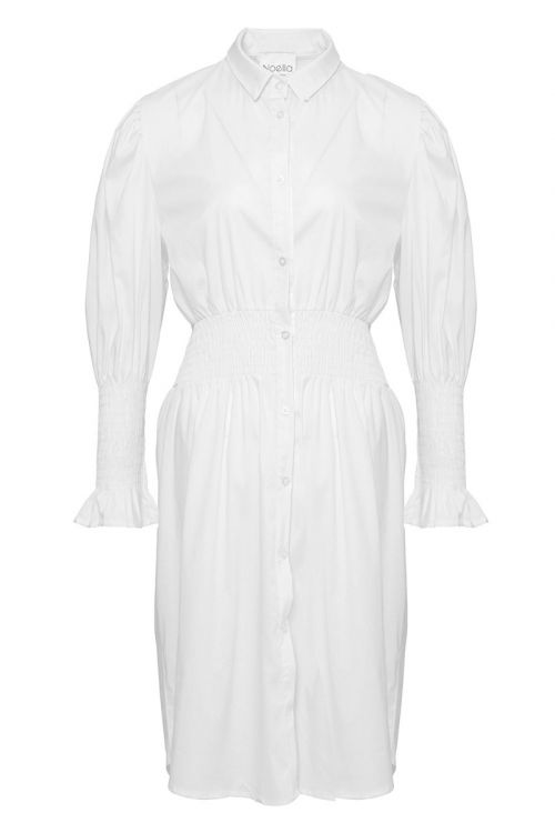 Noella - Kjole - Danielle Dress Cotton Poplin - White