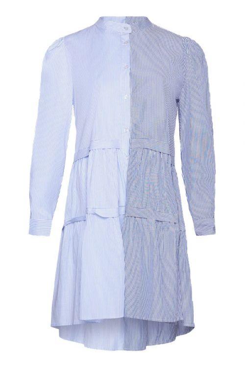 Noella - Kjole - Ebony Dress - Navy/Lightblue