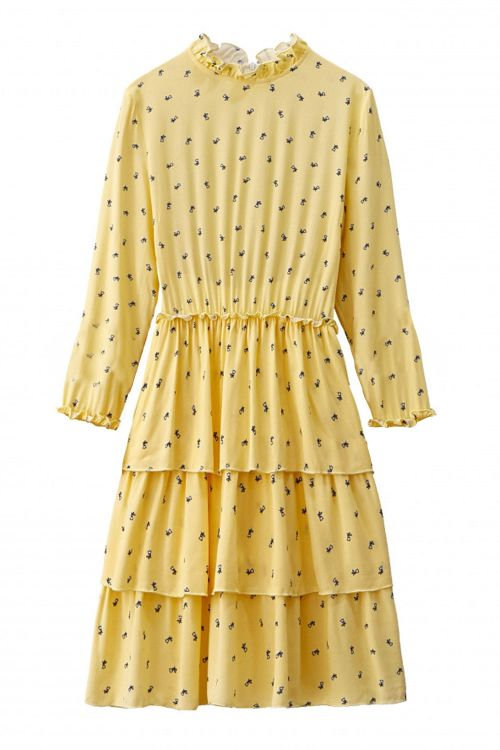 Noella Kjole Fikka Dress Tiny Flower Front