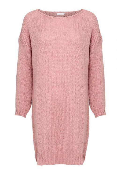 Noella Strik Kala Knit Dress Old Rose Front