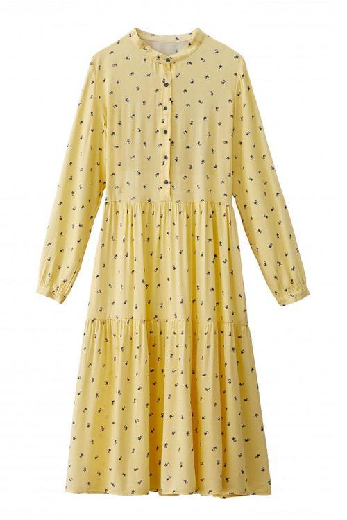 Noella Kjole Lipe Dress Tiny Flower Front