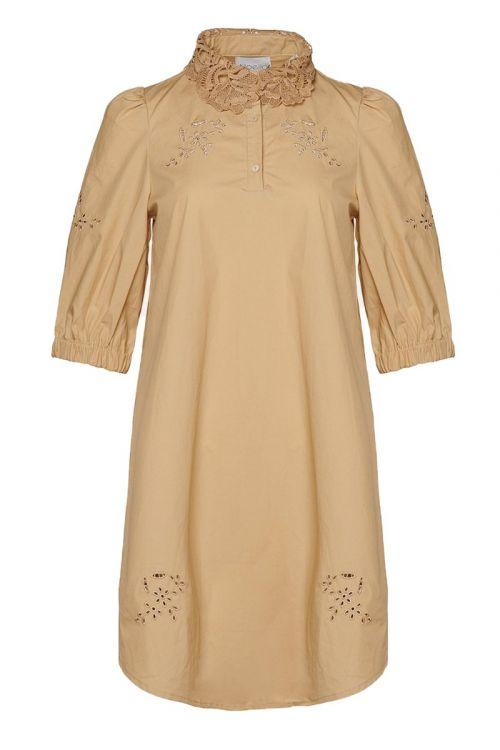 Noella - Kjole - Lucille Dress Cotton - Sand