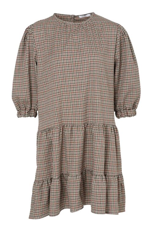 Noella Kjole Tanny Dress Small Checked Front