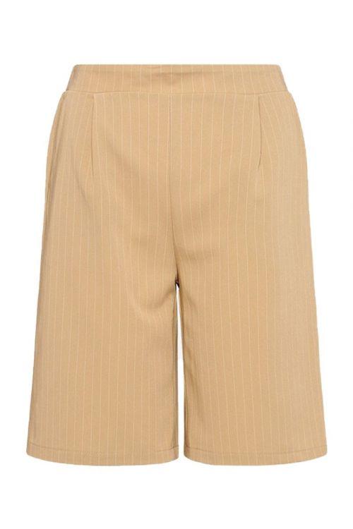 Noella - Shorts - Brooklyn Shorts - Beige Pinstripe