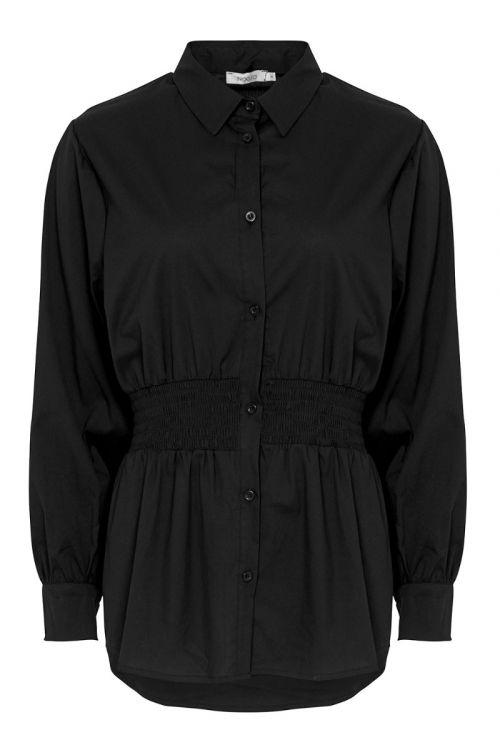 Noella - Skjorte - Day Shirt Cotton Poplin - Black