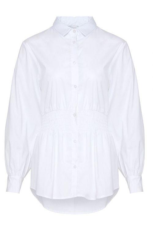 Noella - Skjorte - Day Shirt Cotton Poplin - White