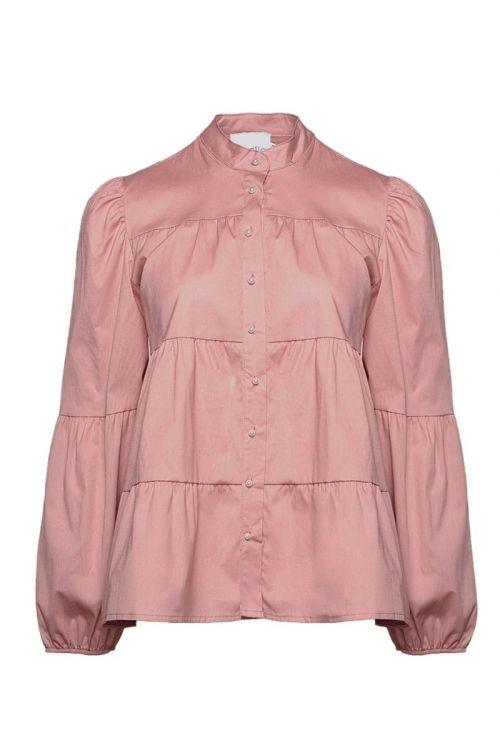 Noella -  Skjorte - Kiki Pearl Shirt Poplin - Rose