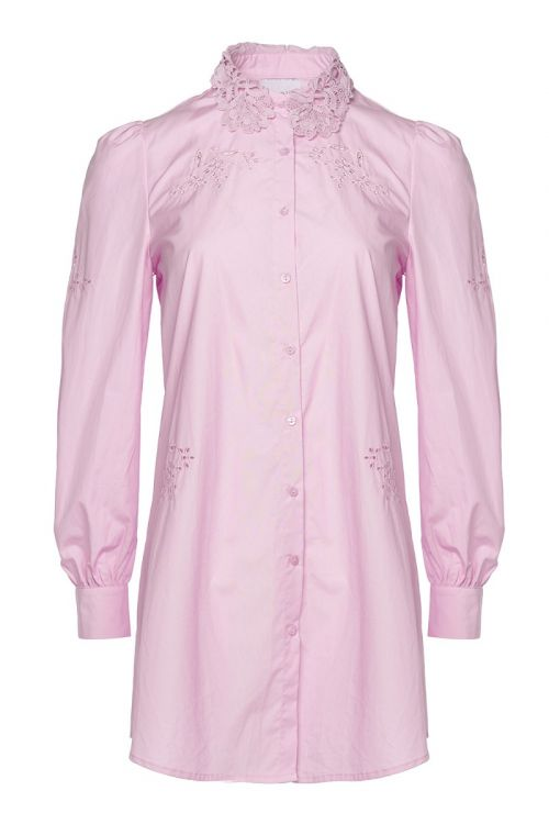 Noella - Skjorte - Lucille Long Shirt - Lavender