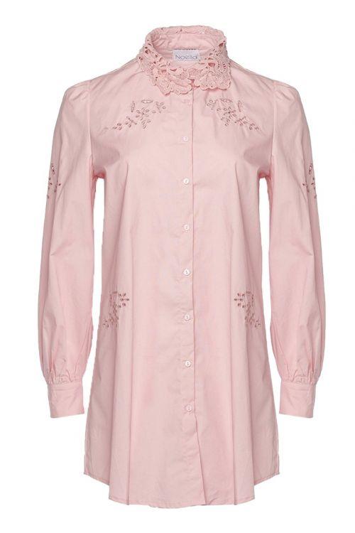 Noella - Skjorte - Lucille Long Shirt - Rose