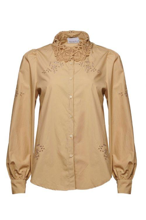 Noella - Skjorte - Lucille Shirt - Camel