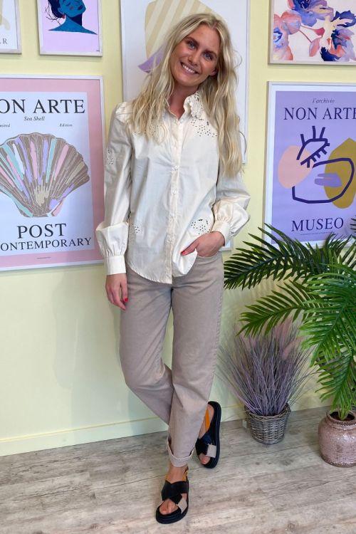 Noella - Skjorte - Lucille Shirt - Sand