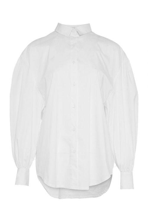 Noella - Skjorte - Tate Shirt Cotton Poplin - White