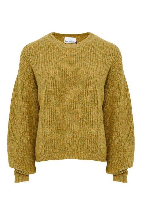 Noella - Strik - Frenchie Knit Sweater - Mustard Melange